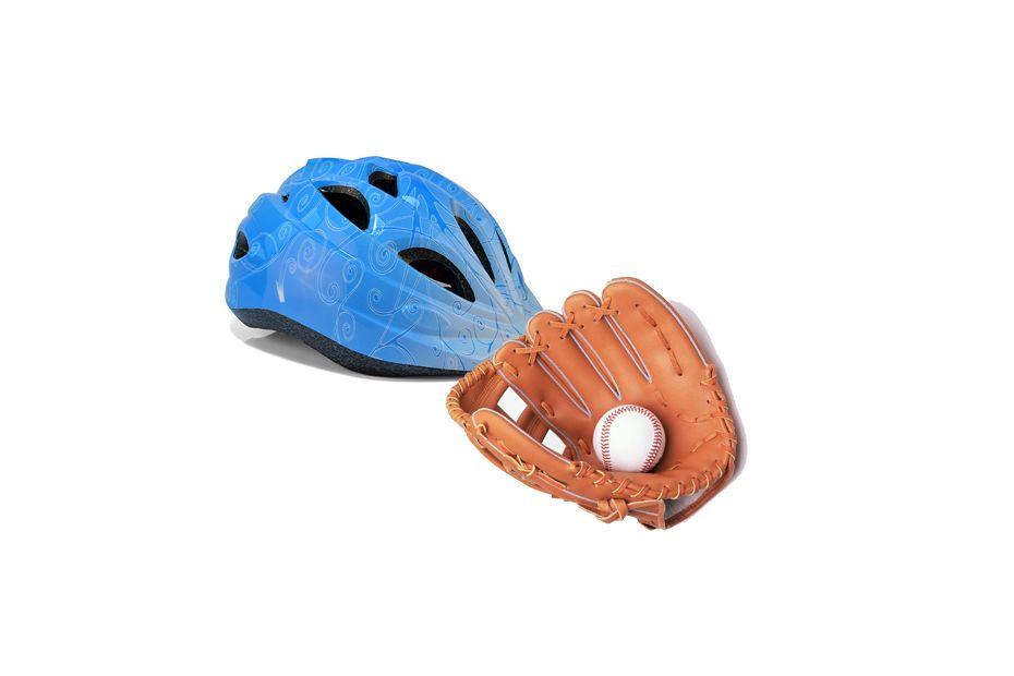 头盔和手套