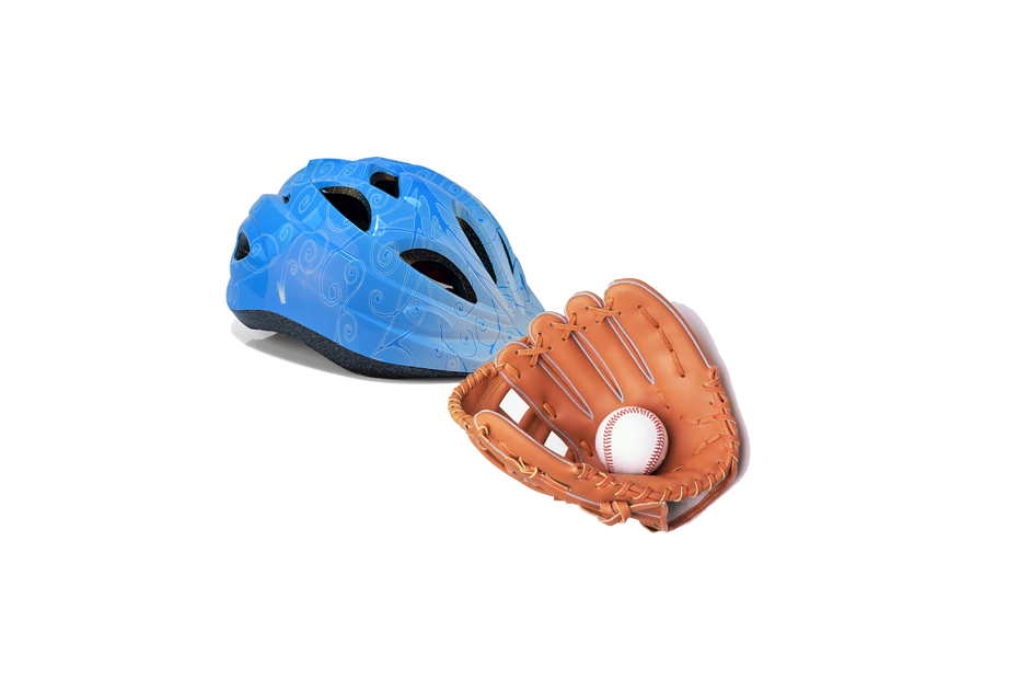 PE FOAM Helmet and glove
