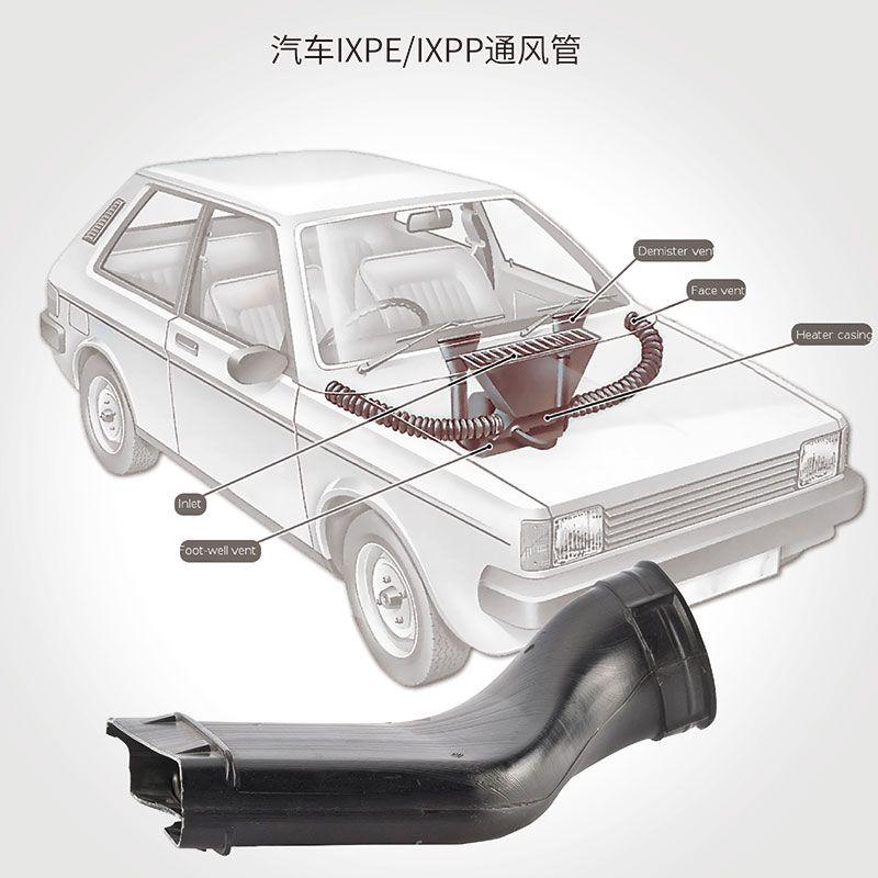 IXPP/电子交联PE泡棉通风管
